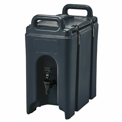 Cambro 250LCD110 Camtainer Black 2.5 Gal. Insulated Beverage Camtainer