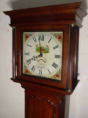 "Antique Oak  ""  Ringston ""  30 Hour Longcase / Grandfather Clock"