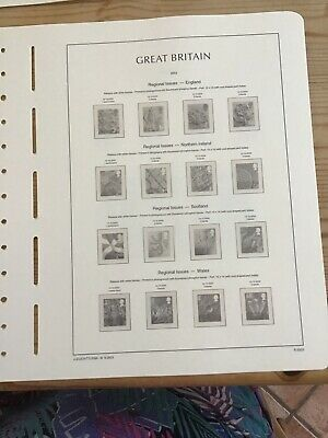 Lighthouse Preprinted Hingeless Stamp Album Pages/ Leaves, GB 2003