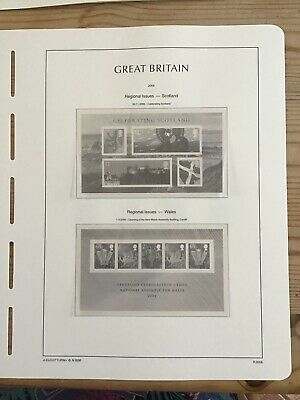 Lighthouse Preprinted Hingeless Stamp Album Pages/ Leaves, GB 2006