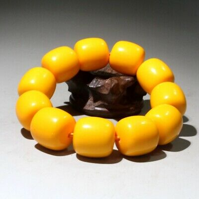Collectable China Handwork Beeswax Carve Noble Delicate Auspicious Hand Catenary