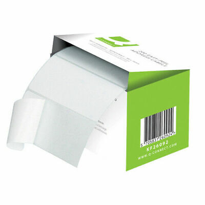 Q-Connect Easi Peel Address Label - Roll of 200
