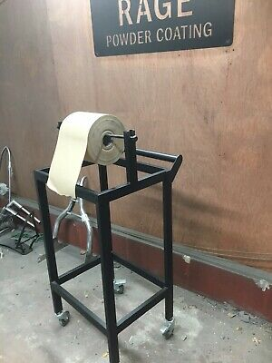 Industrial Paper Wrapping Station packing Trolley
