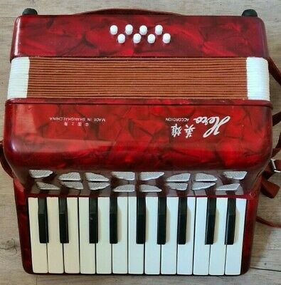 Boxed Hero Retro Vintage Childrens Accordion M:2000
