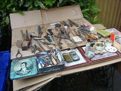 Vintage   Watchmaker , Tools As  Found For Spare Or Repair