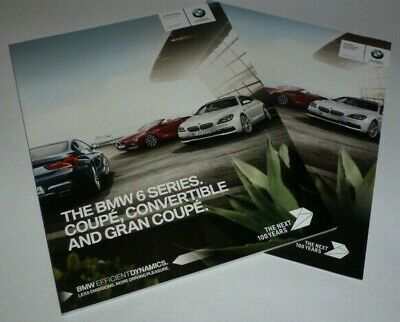 BMW M6 Coupe, Convertible and Gran Coupe Brochure & Pricelist (2016)