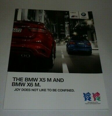 BMW X5 M and X6 M Brochure (2011)