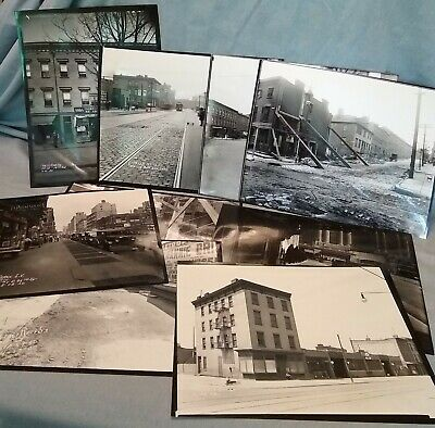 Nine 8X10 Glossy Photos Old Images of New York City 1905-1932 Street Scenes