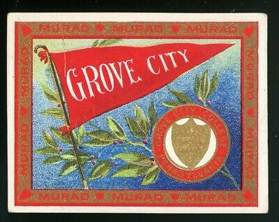 "1910s T51 Murad College Series ""Grove City College"" VG/EX **AA-5400**"