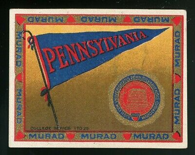 "1910s T51 Murad College Series ""University of Pennsylvania"" VG/EX **AA-5389**"