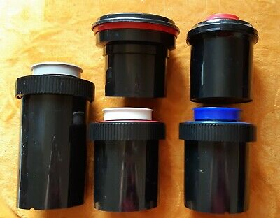 Darkroom Film Developing Tanks Paterson, Jessops, Nebro, film clips & containers