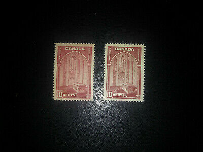 Canada stamps no.241 -241a  MINT S.H.