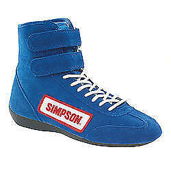 SIMPSON SAFETY High Top Shoes 10 Blue 28100BL