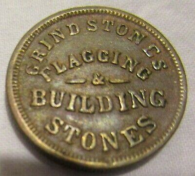 Civil War Store Card Token, Charles W. Stearns, 175O-1a;  Cleveland, Ohio