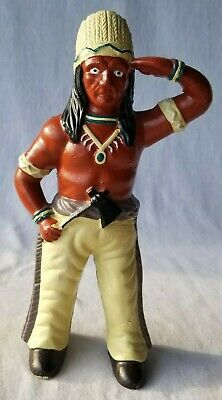 """Indian Chief Tomahawk Cast Iron COIN BANK 9 3/4"""""""
