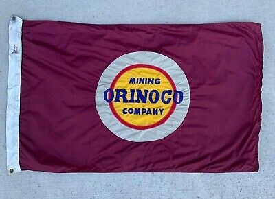 Orinoco Mining Company Great Lakes Freighter Ship Flag