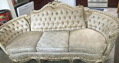 Antique French Louis XVI Carved Furnitures Custom built by Deutsch Bros Inc.