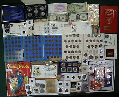 Huge Estate Lot US/World Coin Collection Silver Set Dollar Currency Bulk PCGS