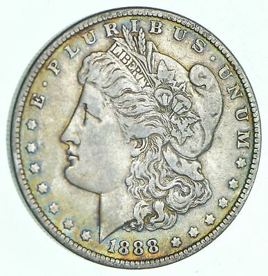 W@W Early 1888-O Morgan Silver Dollar - 90% US Coin - Nice Coin *204