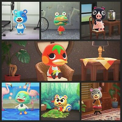 Fan Made Animal crossing Amiibo Cards - Series 1-4 + Welcome Series - You Pick!