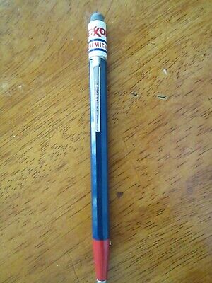 Super Rare Vintage Exxon Chemicals Mechanical Pencil Mech Advertising Auto point