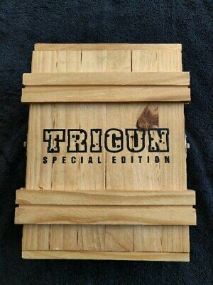 Pewter limited edition Trigun Bust 42/100