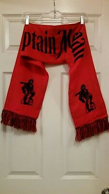 Captain Morgan Rum Scarf Red & Black