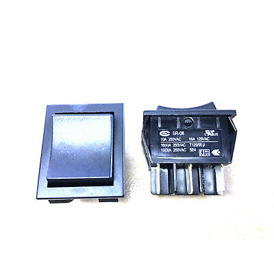 Rriginal alps SDL1P-A TV-3 on-off panel mount power switches 4A 250VAC 2pinsRSDE