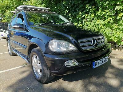 2003 Mercedes-Benz ML350 Inspiration Edition AUTO 7 Seater LPG Gas Huge Spec