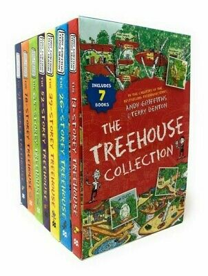 The 13 Story Treehouse Collection - 7 Books By Andy Griffiths