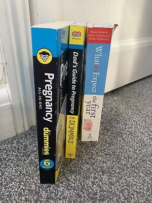 Complete Guides For Pregnancy And The 1st Year Books Including Book For Dad.