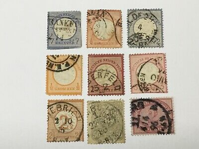 old stamps GERMANY  x 9