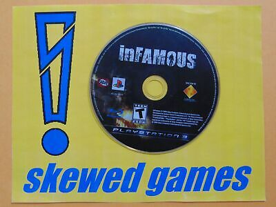 Infamous - Disc Only - PS3 PlayStation 3 Sony