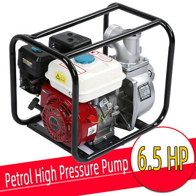 3in Petrol Gasoline Water Transfer Pump 6.5HP 7m Garden Irrigation Pool Cleaning