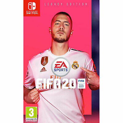 FIFA 20 Legacy Edition NINTENDO SWITCH + CARD WALLET New/Sealed IN STOCK NOW