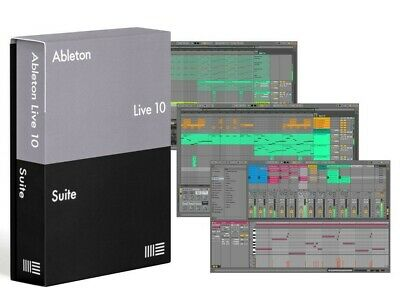 ☆Ableton 10 Live Suite☆●Incluso Max For Live●