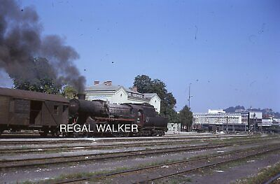 Original 35Mm Obb Austria Austrian Railway Slide Steam Loco 152.3109 At Gkb 1984