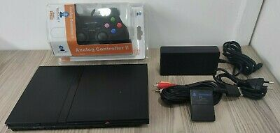 Ps2 Slim - Sony Play Station 2 Slim Ps2 Console Slim + Pad + Memory Card E Altro