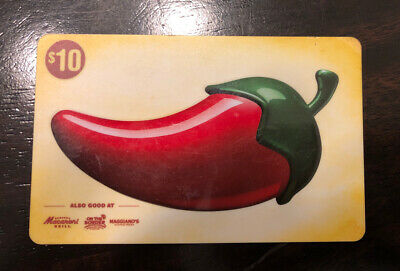 Maggiano's, Macaroni Grill, Chili's And On The Border $10 Gift Card