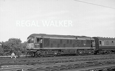 Original Hc Casserley British Railway Negative D5074 At Stonebridge Park 63