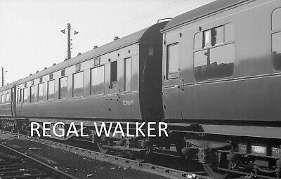 Original Hc Casserley British Railway Negative - Coach Sc8861M Stonebridge Pk 63
