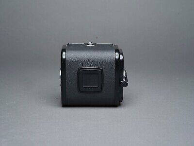 Hasselblad A12 film back. Black. Matching insert. Excellent condition.