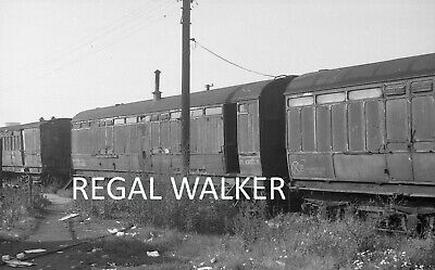 Original Hc Casserley British Railway Negative - Coach M32152M Stonebridge Pk 63