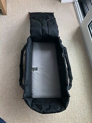 Phil And Teds Black Cocoon Carry Cot