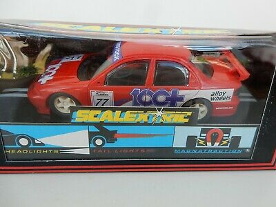 Scalextric C716 Mondeo 100+ Red - Mint boxed