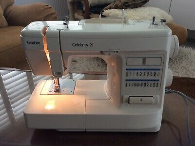 Brother Celebrity 21 Sewing Machine w Foot Control - Need To Be Serviced