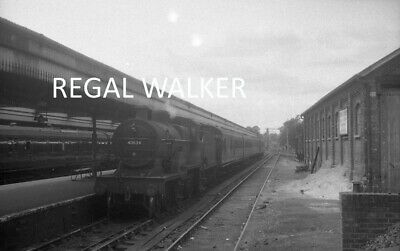 Original Hc Casserley British Railway Negative-Ex Sdjr 2P 40634 Bournemouth W 61