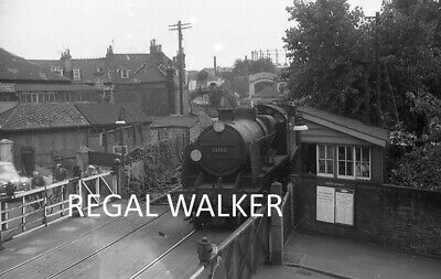 Original Hc Casserley British Railway Negative U 31792 Poole Station Crossing 61