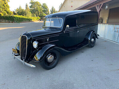 1937 Ford Panel Delivery Deluxe 1937 Ford Panel Delivery Truck Hot Rod - 1935 1936 1938 1939 1940 1932 sedan