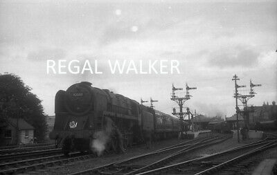 Original Hc Casserley British Railway Negative - 9F 92000 At Bournemouth W 1961